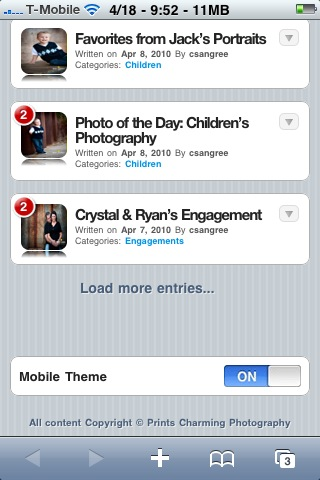 photo-4 Mobile Version of the Website Techie Stuff